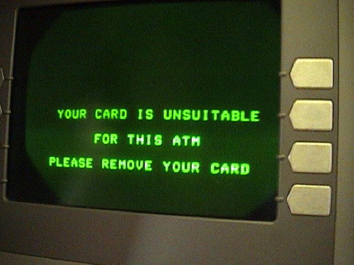 ATM in Swaziland